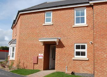 Thumbnail 3 bed semi-detached house to rent in Tom Childs Close, Grantham
