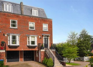 Thumbnail 4 bed end terrace house for sale in Brooklands Court, Northfield Place, Weybridge, Surrey
