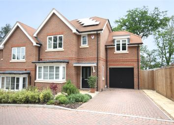 Thumbnail 4 bed semi-detached house for sale in Lowther Close, Chertsey, Surrey