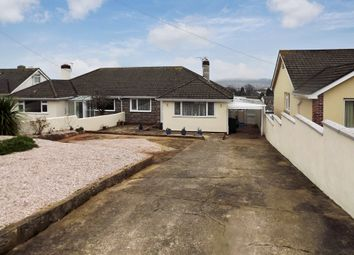 Thumbnail 2 bed semi-detached bungalow for sale in Nut Bush Lane, Chelston, Torquay