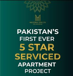 Thumbnail 2 bed apartment for sale in Hotel, Mall, Offices, Apartments Midtown Tower Islamabad