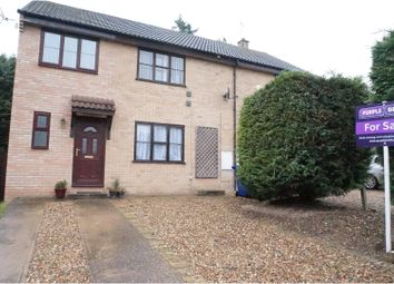 Thumbnail 4 bed semi-detached house for sale in Willow Close, Brandon