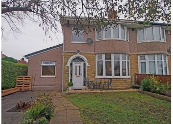 Thumbnail 4 bed semi-detached house for sale in Wakefield Avenue, Bare, Morecambe