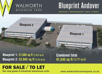 Thumbnail Warehouse for sale in Blueprint Plot 35, Walworth Business Park, Andover, Hampshire