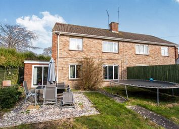 Thumbnail 3 bed semi-detached house for sale in Woodcock Road, Warminster