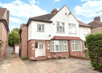 Thumbnail 3 bedroom semi-detached house for sale in Lyncroft Avenue, Pinner, Middlesex
