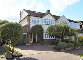 Thumbnail Semi-detached house for sale in Harewood Hill, Epping, Essex