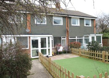 Thumbnail 3 bed terraced house for sale in Parham Close, Rustington, West Sussex