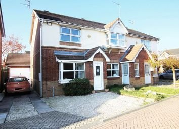 Thumbnail 2 bed semi-detached house for sale in Foxglove Close, Kingswood, Hull