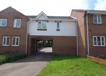 Thumbnail 1 bed terraced house to rent in Lavender Close, Attleborough, Norfolk