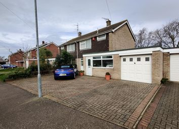 Thumbnail 3 bed semi-detached house to rent in Impala Close, Old Catton, Norwich