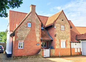 Thumbnail 4 bed detached house for sale in Chiswell Lane, East Harling, Norwich, Norfolk