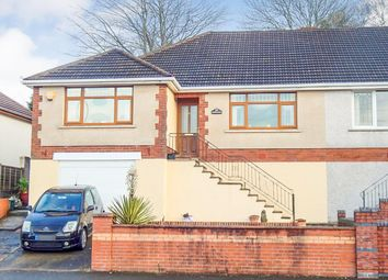 Thumbnail 3 bed semi-detached bungalow for sale in Trallwn Road, Llansamlet, Swansea