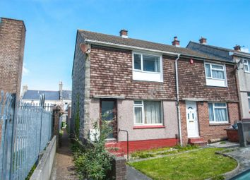 Thumbnail 2 bed end terrace house to rent in Herbert Place, Plymouth