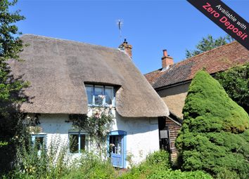 Thumbnail 1 bed cottage to rent in Church Street, Hurstbourne Tarrant, Andover