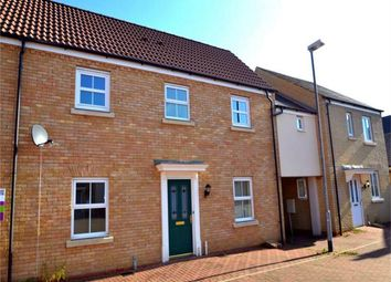 Thumbnail 3 bed terraced house to rent in Meadow Rise, Hinchingbrooke, Huntingdon, Cambridgeshire