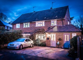 Thumbnail 3 bed semi-detached house for sale in Manor Road North, Thames Ditton