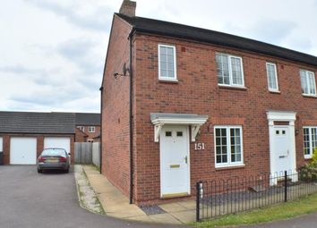 Thumbnail 2 bed end terrace house for sale in Worthington Road, Off Common Lane, Fradley, Staffordshire