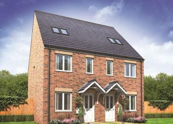 Thumbnail 3 bed terraced house for sale in Plot 20, Bickleigh Ginnel, New Horizons, Yaxley, Peterborough