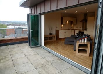 Thumbnail 1 bed flat to rent in Penthouse, Brewery Wharf, Mowbray Street, Sheff