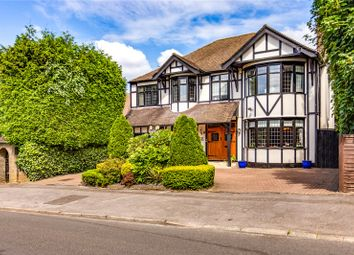 Thumbnail 4 bed detached house for sale in Hartsbourne Avenue, Bushey Heath, Hertfordshire