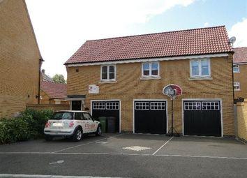 Thumbnail 2 bedroom maisonette to rent in Lyvelly Gardens, Parnwell, Peterborough