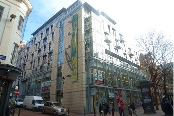 Thumbnail 1 bed flat for sale in Temple House 24 Temple Street, Birmingham