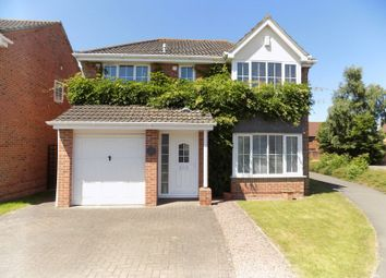 Thumbnail 4 bedroom detached house for sale in Greenwich Close, Swindon