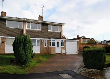 Thumbnail 3 bed semi-detached house for sale in Barley Lane, Kingsthorpe, Northampton