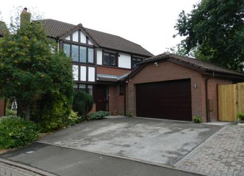 Thumbnail 4 bed detached house to rent in Doeford Close, Culcheth, Warrington