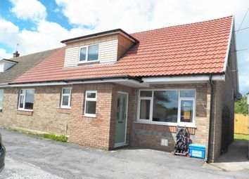 Thumbnail 4 bed semi-detached bungalow for sale in Cefn Bryn, Church Road, Burry Port