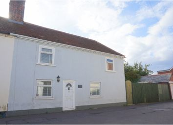 Thumbnail 2 bed semi-detached house for sale in Waterloo Road, Lymington