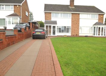 Thumbnail 3 bedroom semi-detached house for sale in Brook Street, Woodsetton, Dudley