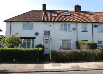 Thumbnail 3 bed terraced house for sale in Saxon Drive, London