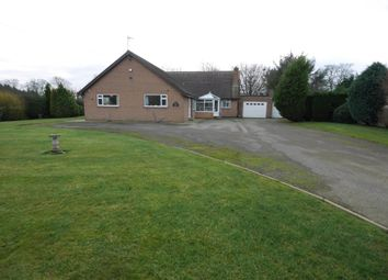 Thumbnail 4 bed detached bungalow for sale in Main Road, Newsholme, Goole
