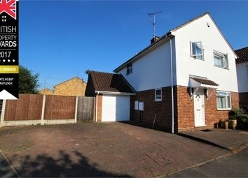 Thumbnail 3 bed detached house for sale in Sheridan Close, Rayleigh, Essex