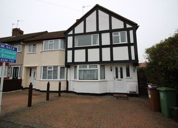 Thumbnail 3 bed end terrace house for sale in Merrilands Road, Worcester Park