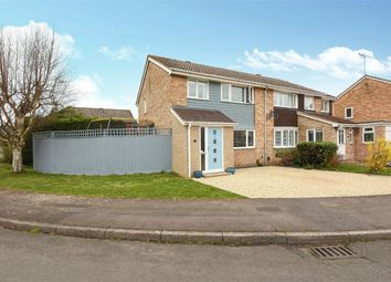 Thumbnail 3 bed semi-detached house for sale in Sarum Crescent, Wokingham, Berkshire