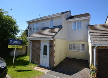Thumbnail 4 bed link-detached house for sale in Fairview Park, St. Columb Road, St. Columb, Cornwall
