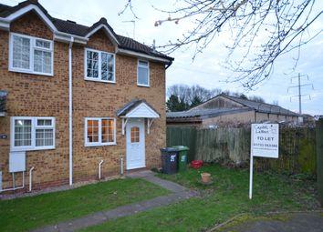 Thumbnail 2 bedroom end terrace house to rent in Flamborough Close, Woodston, Peterborough