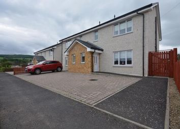 Thumbnail 3 bed semi-detached house for sale in Burn Road, Darvel