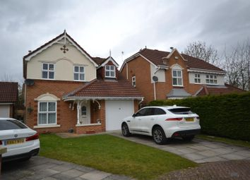 Thumbnail 3 bed detached house for sale in Barbondale Close, Whittle Hall, Warrington