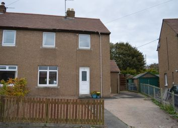 Thumbnail 2 bed semi-detached house for sale in Prince Charles Crescent, Scremerston, Berwick Upon Tweed, Northumberland