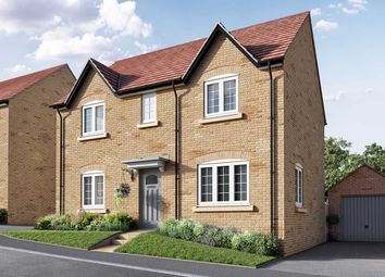 """Thumbnail 4 bed detached house for sale in """"The Leverton"""" at Isemill Road, Burton Latimer, Kettering"""