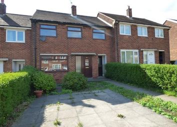 Thumbnail 3 bedroom terraced house for sale in Ryelands Crescent, Preston, Lancashire