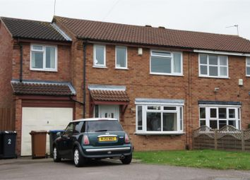 Thumbnail 4 bed semi-detached house for sale in Tudor Grove, Groby, Leicester