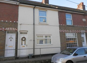 Thumbnail 2 bed terraced house to rent in St. Richards Road, Walmer, Deal