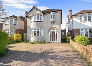 Thumbnail 3 bed detached house for sale in Barton Road, Canterbury, Kent