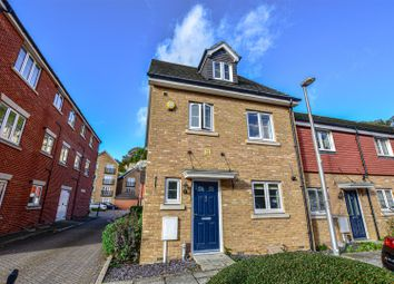 Thumbnail 4 bed end terrace house for sale in Eustace Crescent, Strood, Rochester