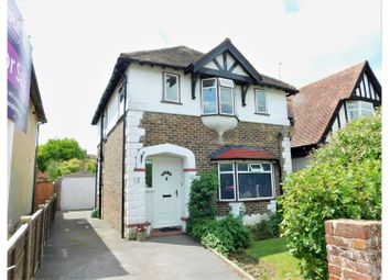 Thumbnail 3 bed detached house for sale in Downlands Avenue, Worthing
